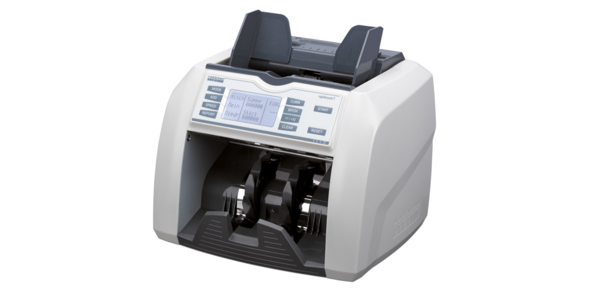 Abbildung einer geldzählmaschine von ratiotec