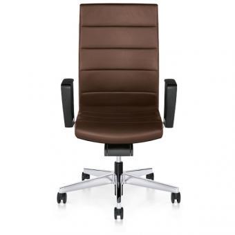 Interstuhl Champ Bürodrehstuhl 3C02, hohe Rückenlehne, Synchronmechanik