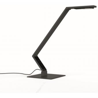 LUCTRA® TABLE LINEAR LED Tischleuchte mit Fuß 920101, Farbe: Schwarz