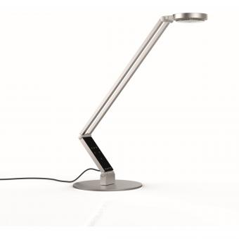 LUCTRA® TABLE RADIAL LED Tischleuchte mit Fuß 920223, Farbe: Aluminium