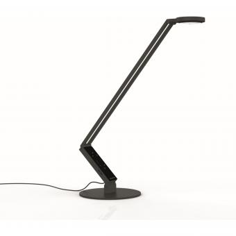 LUCTRA® TABLE PRO RADIAL LED Tischleuchte mit Fuß 921601, Farbe: Schwarz