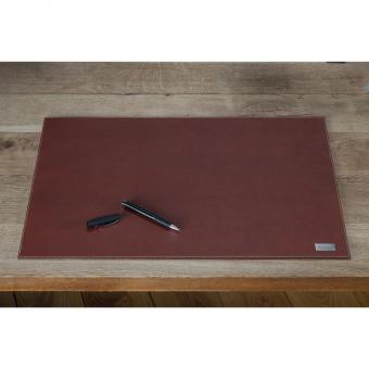 Bouvino Schreibtischunterlage Echtleder, drei Farben zur Auswahl