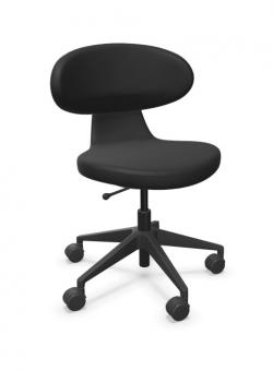 Girsberger Simplex 3D Bürodrehstuhl schwarz