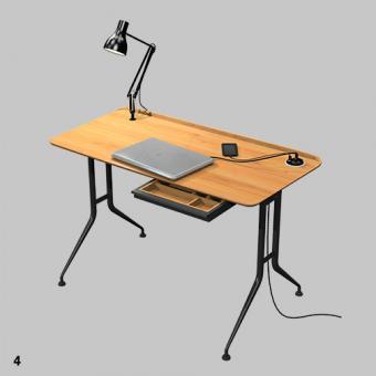Dante Schreibtisch Homeoffice 60 x 120 cm