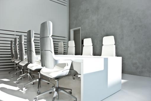 Interstuhl Silverchair 362S Bürodrehstuhl, Rückenlehne hoch, Synchronmechanik