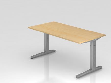 Nienhaus Schreibtisch höheneinstellbar 160 x 80 cm