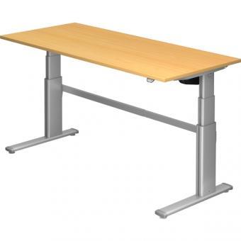 Nienhaus Schreibtisch XD extra hoch, 180 x 80 cm, elektrisch höhenverstellbar