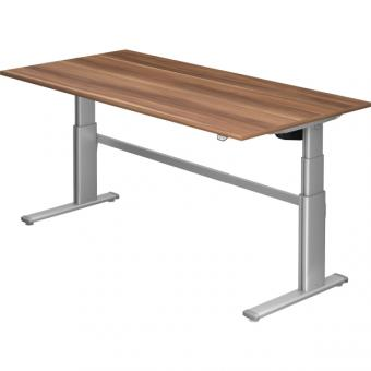 Nienhaus Schreibtisch XD extra hoch, 200 x 100 cm, elektrisch höhenverstellbar