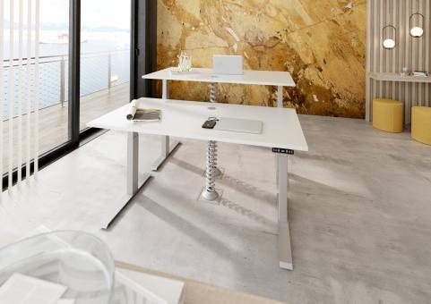 Nienhaus Sitz Steh Tisch (Memory-Schalter) 180 x 80 cm