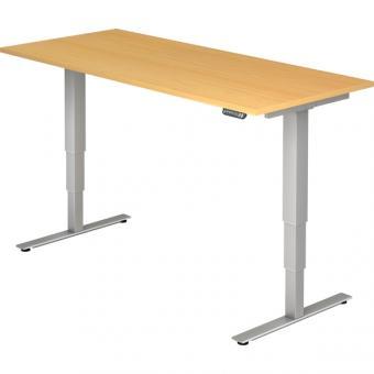 Nienhaus elektrisch höhenverstellbarer Schreibtisch Ergonomie aktiv, 180 x 80 cm