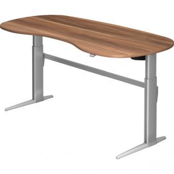 Nienhaus elektrisch höhenverstellbarer Schreibtisch XE, 200 x 100 cm
