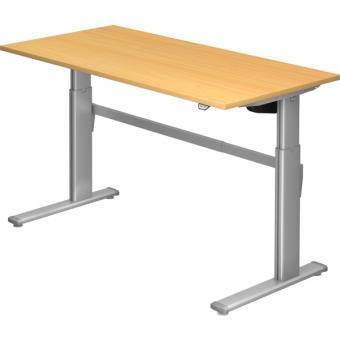 Nienhaus Schreibtisch XM, 160 x 80 cm, elektrisch höhenverstellbar